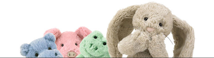 Jellycat Bashful Range at Bonkers Gift Shop