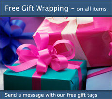 Free Gift wrapping and notes. 