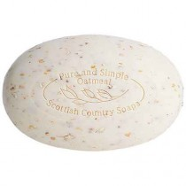 Pure and Simple Oatmeal Soap. Made in Scotland by Scottish Fine Soaps.