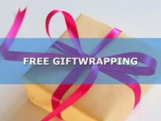 Free Gift Wrapping at Bonkers