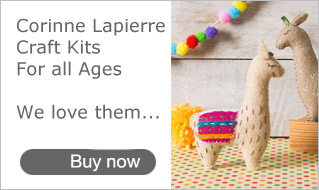 Corinne Lapierre Craft Sewing Kits at Bonkers